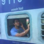 Lale Talking To GF n Me Roaming At Station