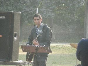 Myself Rohan Bhardwaj At Rhythm Guitar