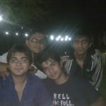 From Left Lale, Motu (Tejasvi), Jahil & Me
