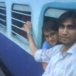 Train Stuck At Batala Station