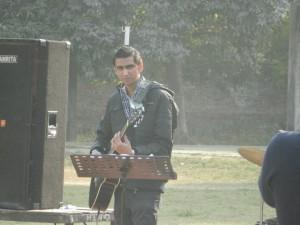 Myself Rohan Bhardwaj At Rhythm Guitar