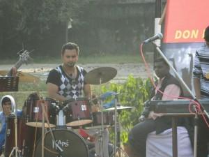 Drummer Haider